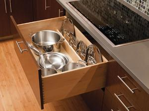 Как хранить сковородки на кухне