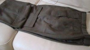 Потертость на брюках