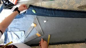 Способы подгонки джинсов по размеру