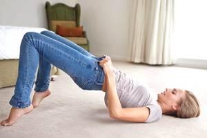 Как сделать, что бы джинсы были по размеру
