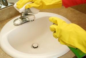 Известковый налет: способы очистки крана