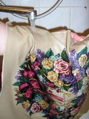Способы стирки вышивки крестиком