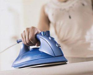 Как утюжить вышивку
