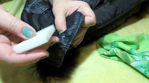 Как очистить куртку в домашних условияз