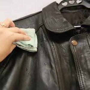 Как чистить кожаные куртки