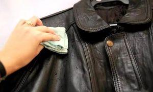как очистить кожаную куртку