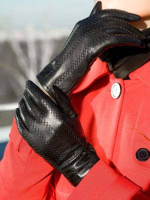 Как чистить кожаные перчатки