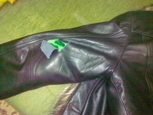 Как починить кожаную куртку в домашних условиях