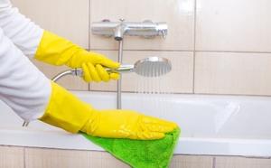 Промывание ванны содой