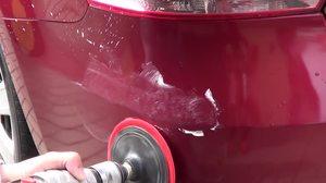 Необходимость полировки при удалении царапин с автомобиля