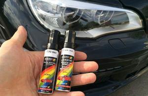 Использование краски-аэрозоля для удаления царапин на машине