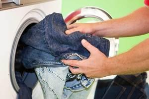 Линяют джинсы
