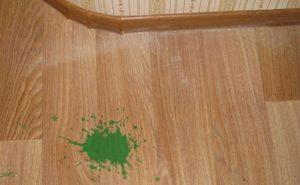 Чем удалить пятно от зеленки