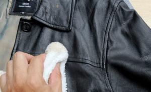 Как почистить и разгладить куртку из кожзаменителя