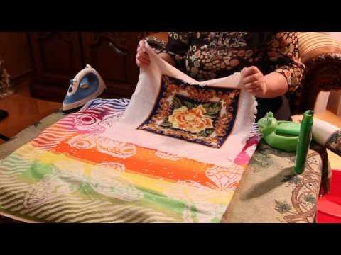 Как стирать вышивку крестом на канве