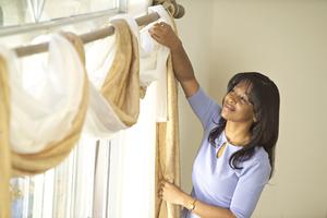 Как постирать шторы из органзы